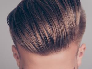 Close up of man's hair to illustrate hair loss restoration treatments